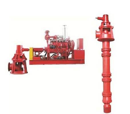 Fire Fighting Pump Vertical Turbine