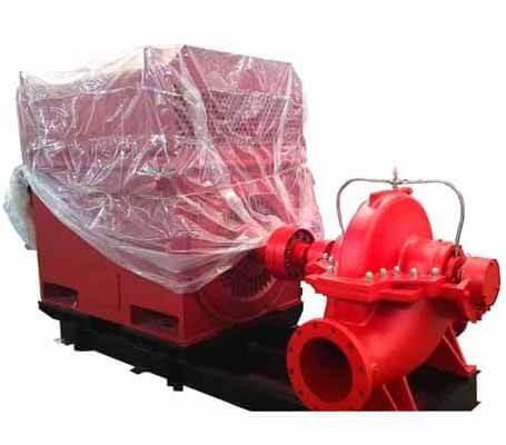 FOWE/FOWM Horizontal Split Casing Pump By Engine/Electric Motor