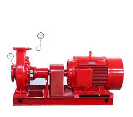 FIOE/FIOM/FNAE/FNAM  End Suction Pump By Engine/Electric Motor